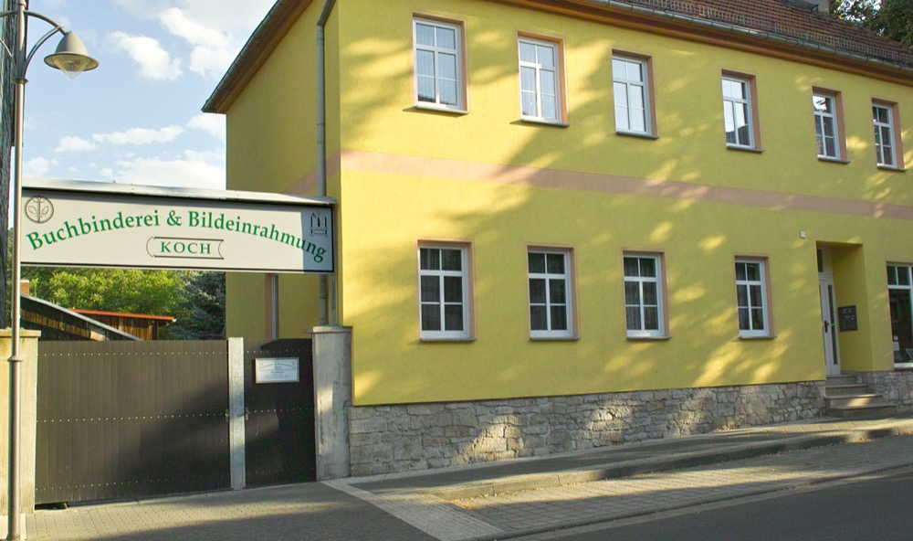 Buchbinderei Koch in Sondershausen